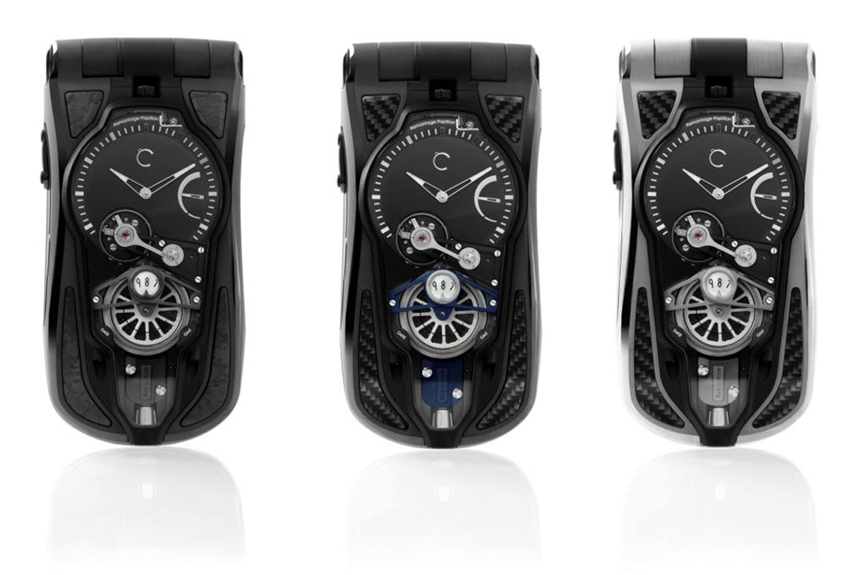 Celsius X VI II OptiC GMT Furtiff Phone