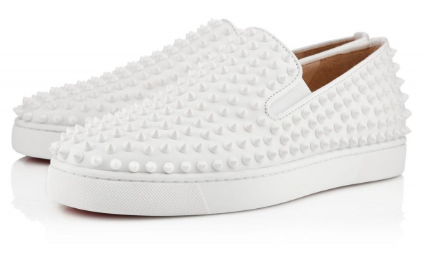 Christian Louboutin's Roller-Boat Flat Sneakers