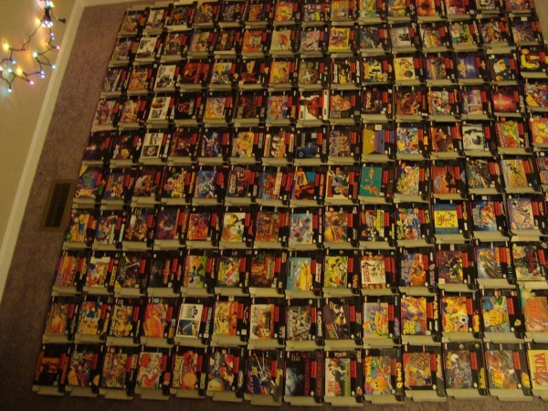 $25,000 for the Complete US Super Nintendo (SNES) Collection