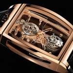 Corum Golden Bridge Tourbillon Panoramique Watch – Inspired by Delicate Perfection of Snowflakes