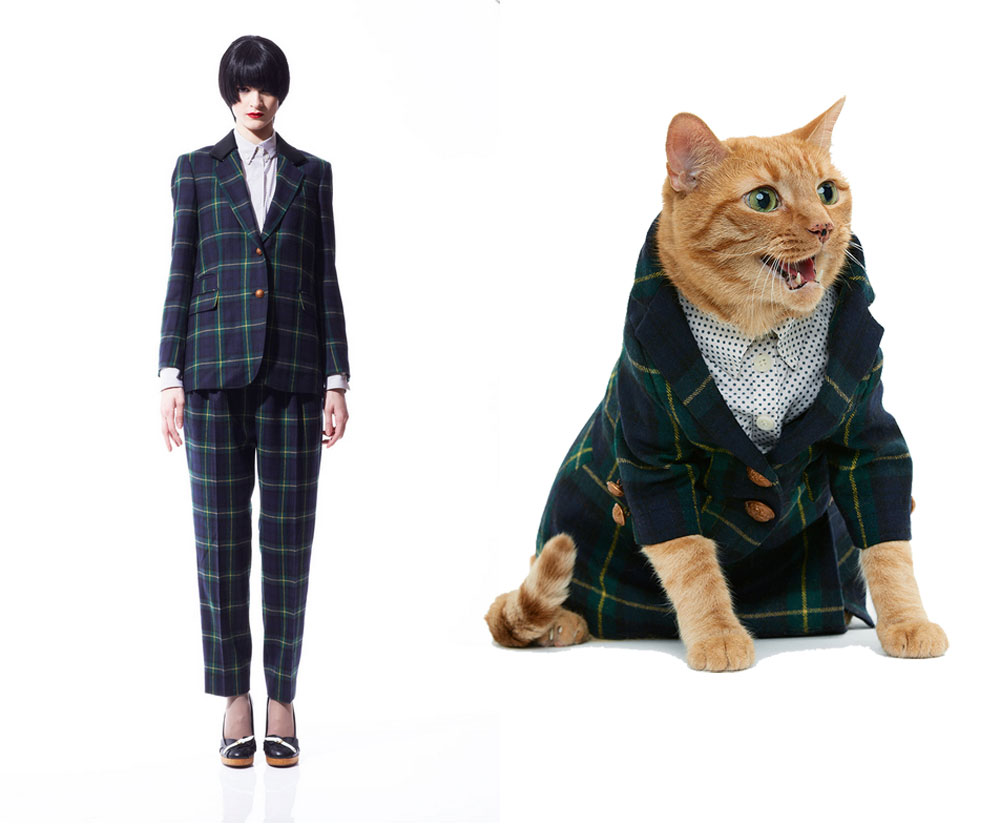 United Bamboo s Feline Couture offers Matching Outfits for Cat Owners