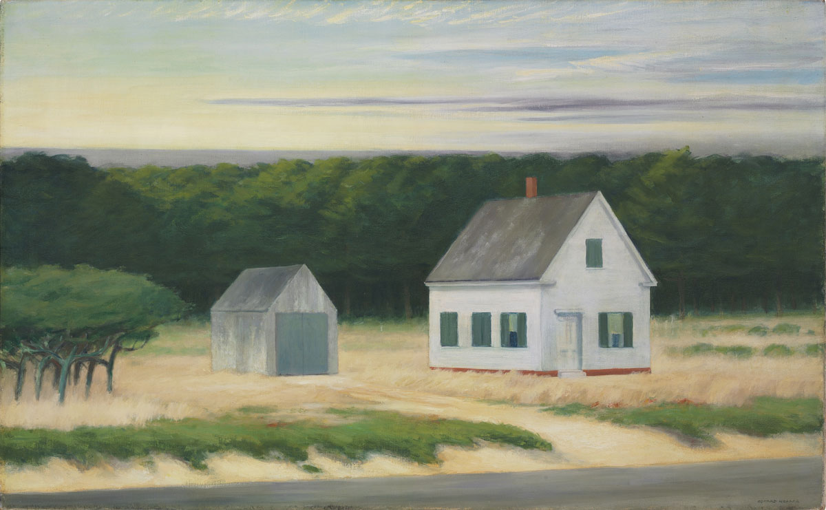 Edward Hopper's October on Cape Cod Oil – Most Expensive Item Sold Online