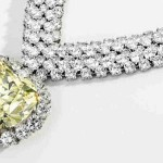47.14-carat Heart-shaped Yellow Diamond Belonging to Estee Lauder and Duchess of Windsor at Sotheby's Auction