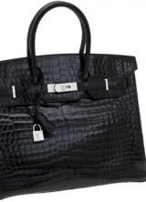 Hermès Diamond Birkin Handbag Sold for $122,500 at Heritage Auction in Dallas
