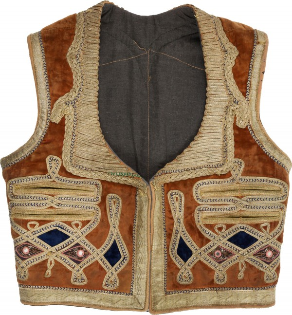 Jimi Hendrix Owned and Worn Gypsy-Style Vest from the Collection of Stevens Weiss, Hendrix's Attorney