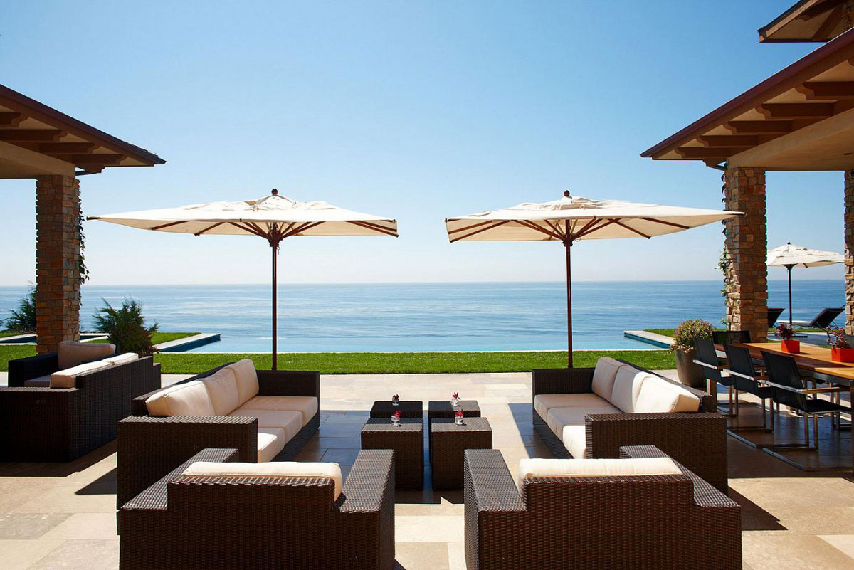 Luxury spanish style hacienda in marisol malibu available for 4d designs beach house