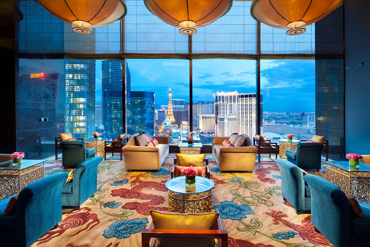 mandarin oriental las vegas launches 60 000 presidental new year s eve package extravaganzi. Black Bedroom Furniture Sets. Home Design Ideas