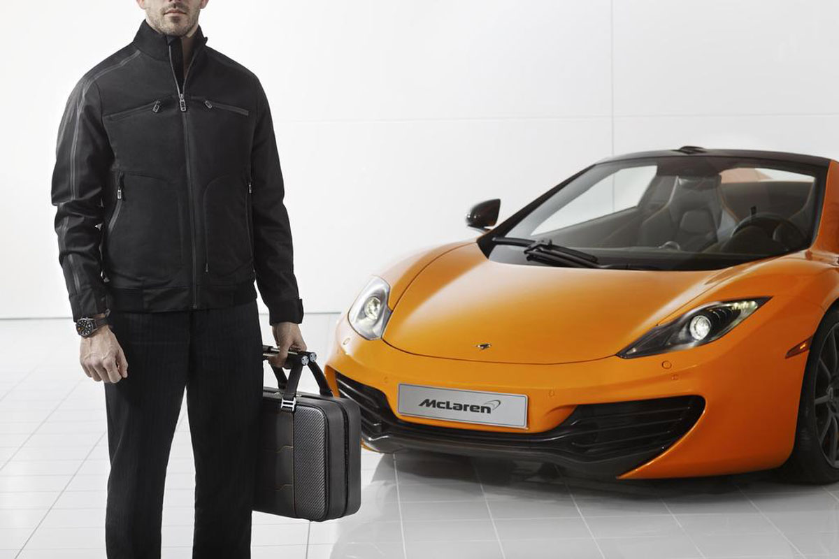 McLaren MP4-12C Inspired Accessories
