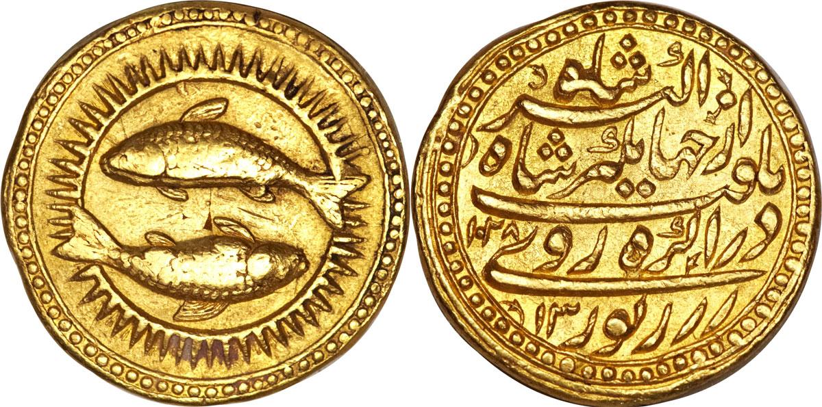 Mughal, Jahangir, AH 1014-1037 - AD 1605-1627, gold zodiac mohur