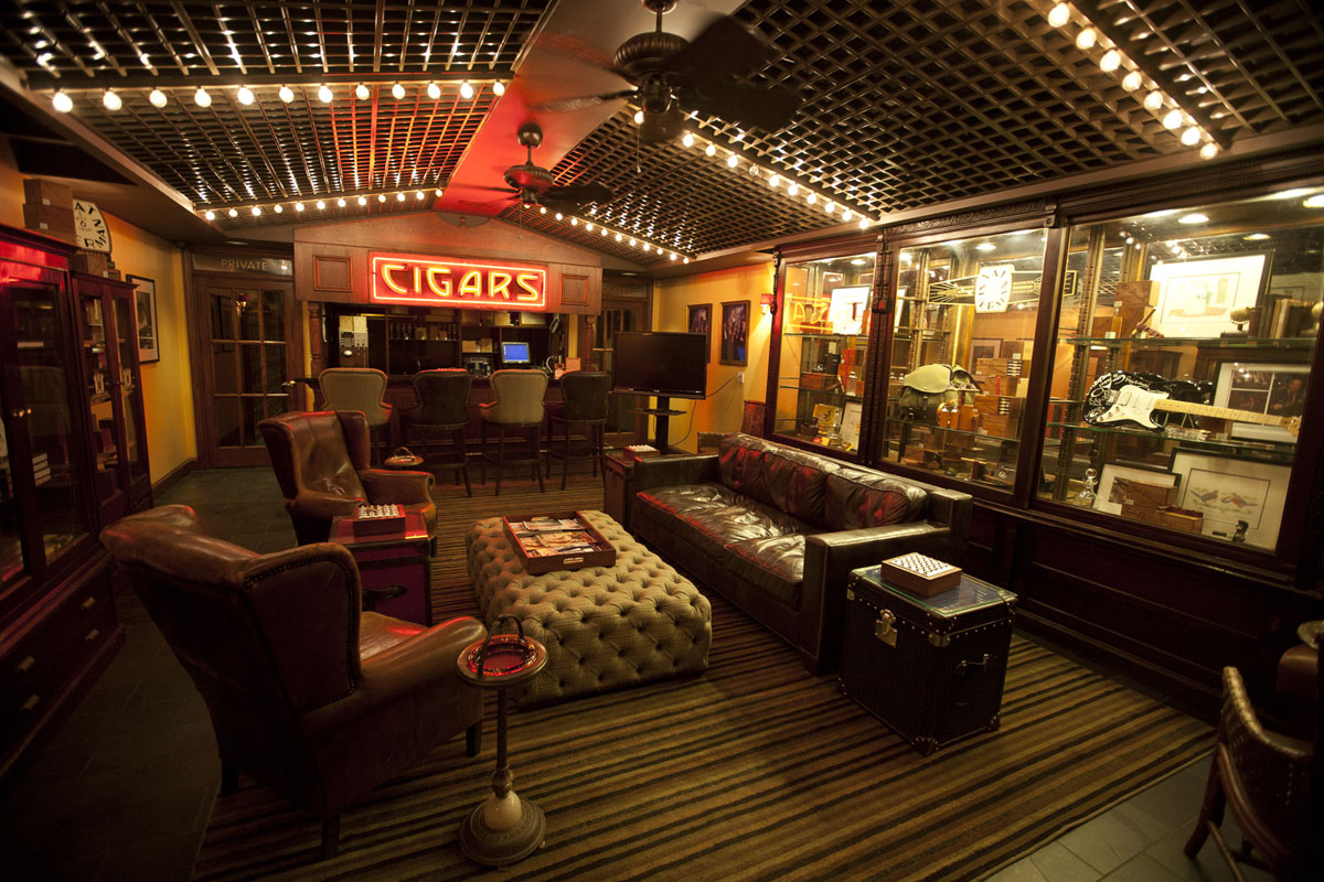 Ultimate Cigar Experience In Nat Sherman Townhouse For