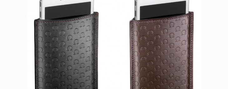 Omega's a Fine Leather Case for the iPhone 5