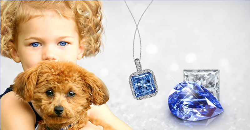 Pets Immortalized in Diamonds Made of Cremated Ashes