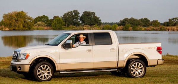 A 2009 Ford F-150 King Ranch 4X4 SuperCrew owned and driven by the former 43rd President of the United States George Walker Bush will be sold by Barrett-Jackson at its Scottsdale auction on 19th January 2013