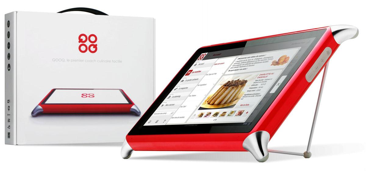 Qooq - многофункциональный планшет для кухни GizmoTop
