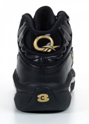 Reebok Question Black and Gold