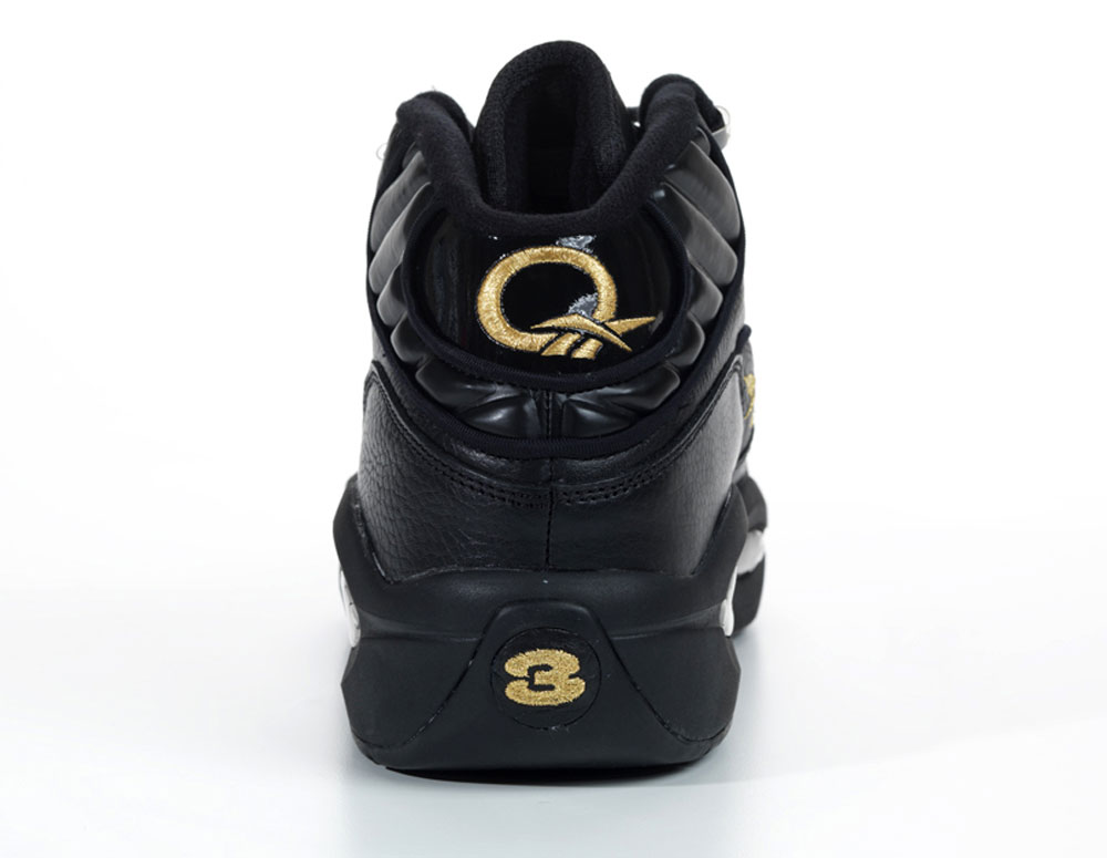 reebok question black and gold for new year�s eve