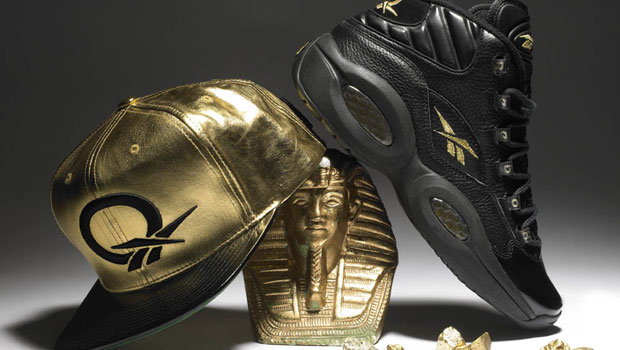 Reebok Question &#8211; Black and Gold for New Years Eve