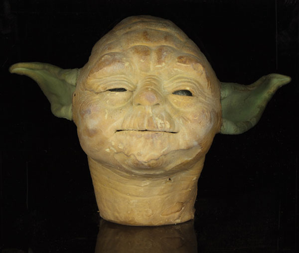 Rejected Yoda head