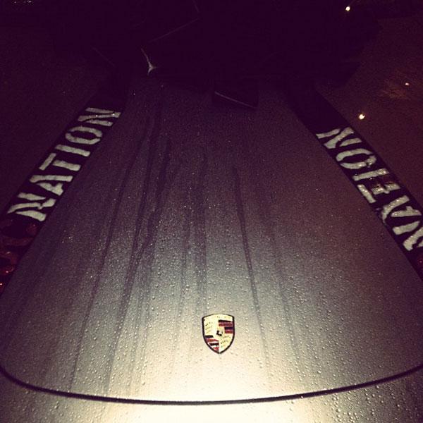 Rihanna's Porsche 911 Turbo S