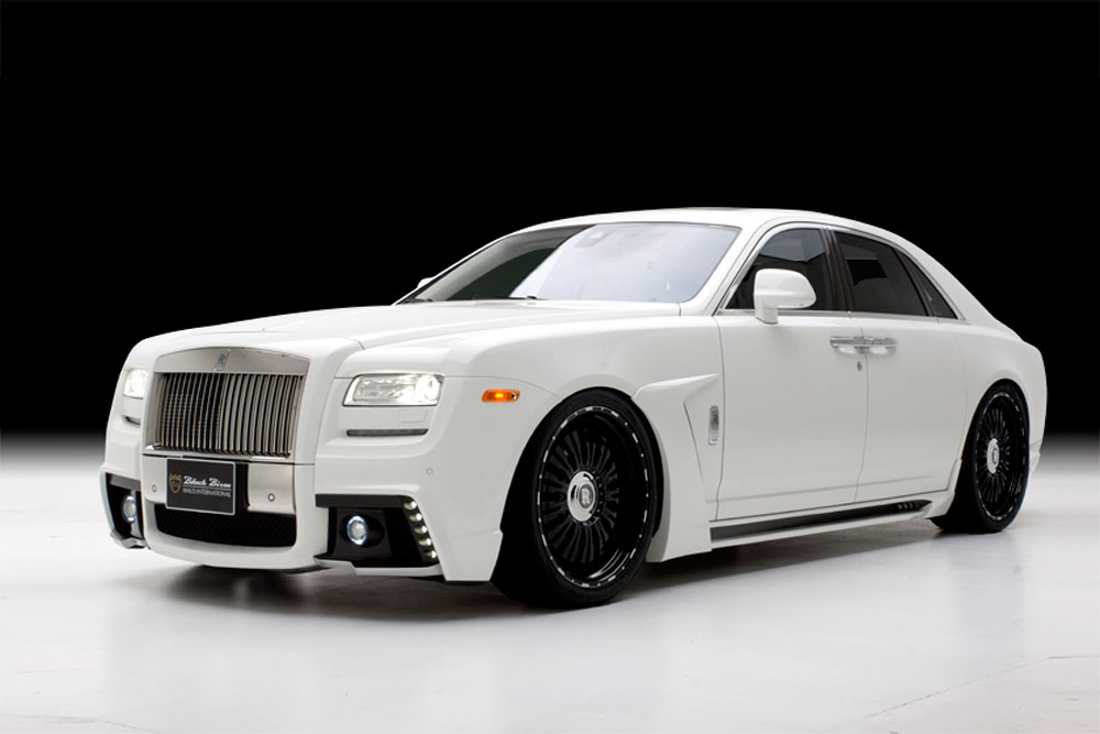 rolls royce ghost by wald international extravaganzi. Black Bedroom Furniture Sets. Home Design Ideas
