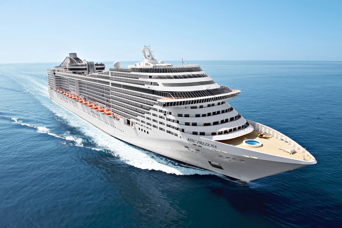 The MSC Preziosa