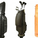Treccani Milano's Custom Leather Golf  Bags