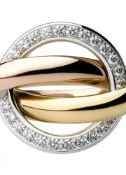 Cartier Trinity Crash ring