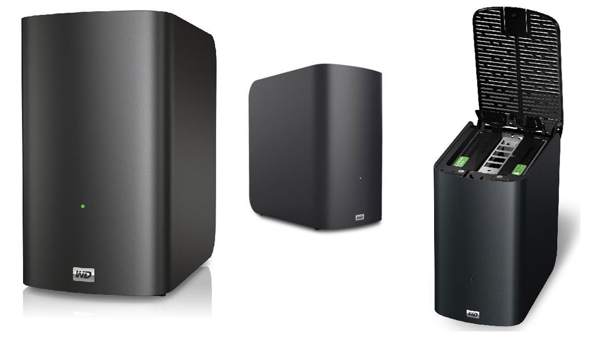 Western Digital MyBook Live Duo up to 8TB