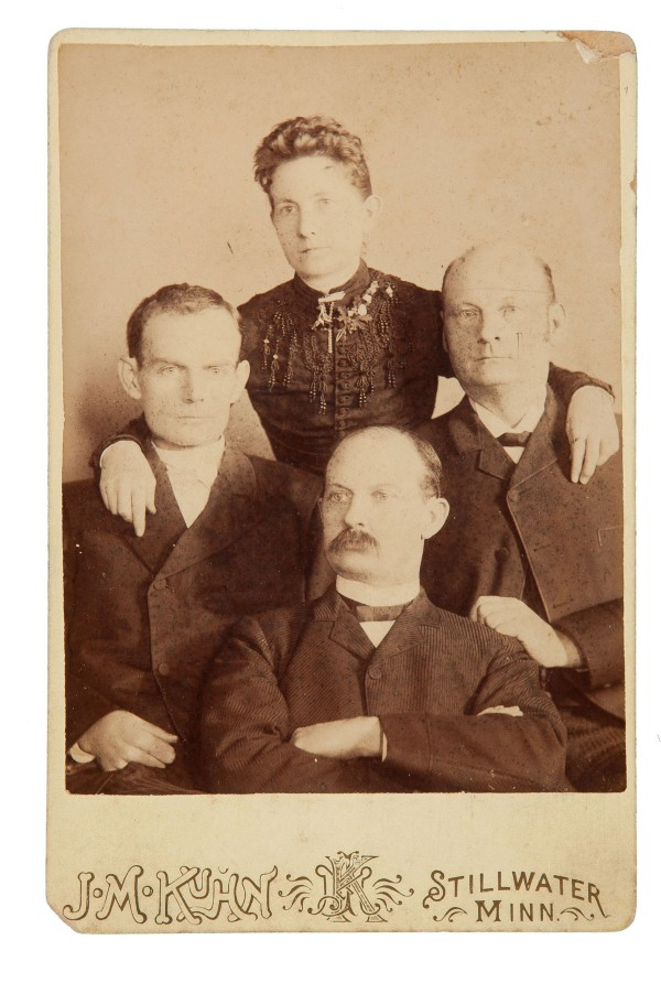 Rare original photo of the Younger brothers gang, estimate $7,000+