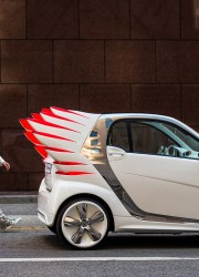 Smart Fortwo Electric Drive Got a Pair of Wings Thanks to Jeremy Scott