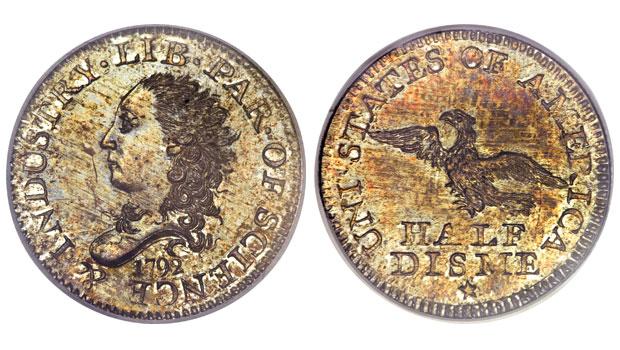 1792-Half-Disme-SP67-PCGS