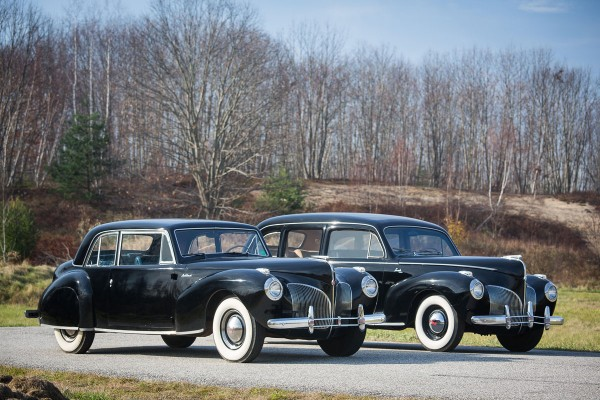 1941 Lincoln Continental Coupé and 1941 Lincoln Custom Limousine