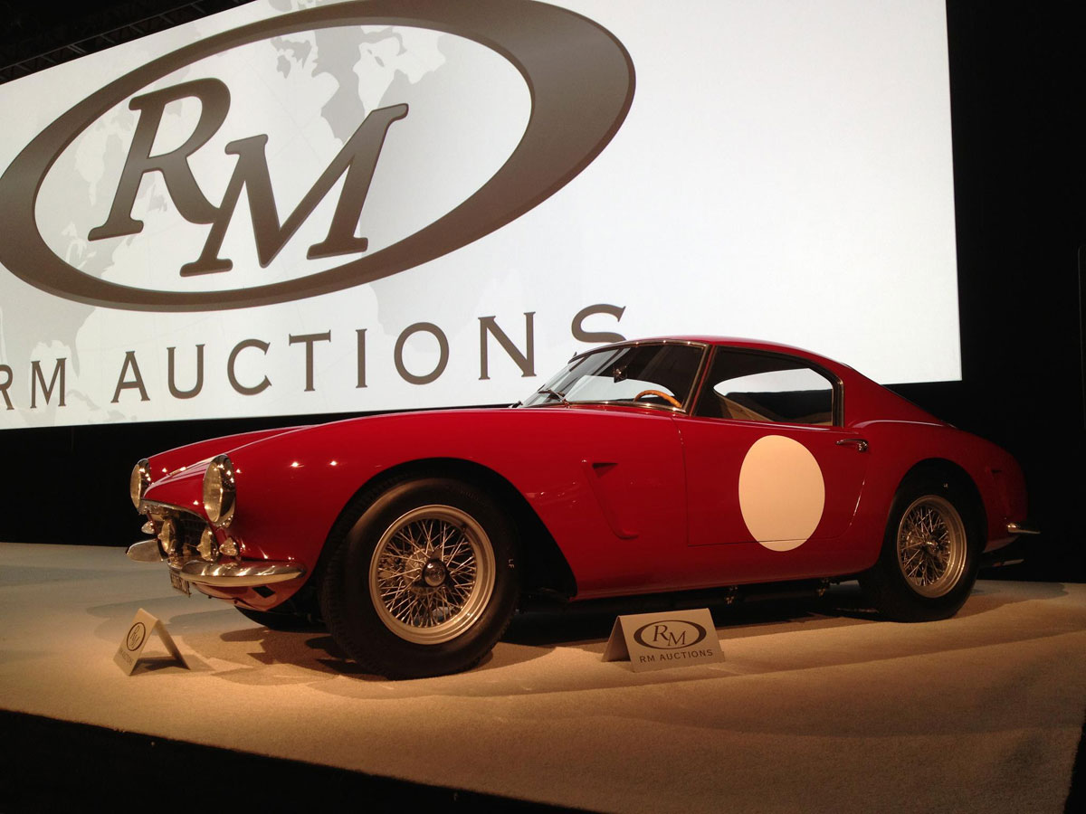 1960 Ferrari 250 GT SWB Berlinetta 'Competizione' Sells for $7.4 Million