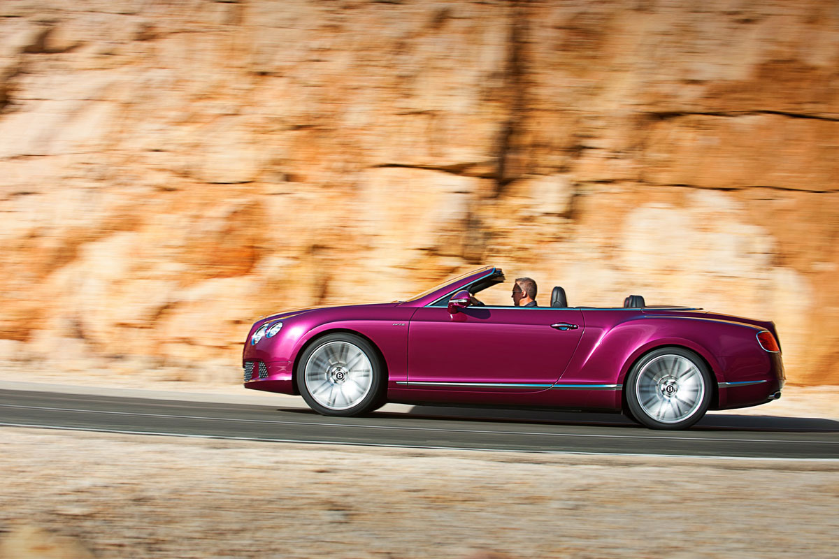 World's Fastest 4-Seat Convertible – New Bentley Continental GT Speed Convertible