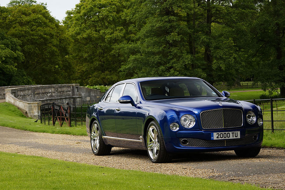The 2014 Bentley Mulsanne Ready For Geneva