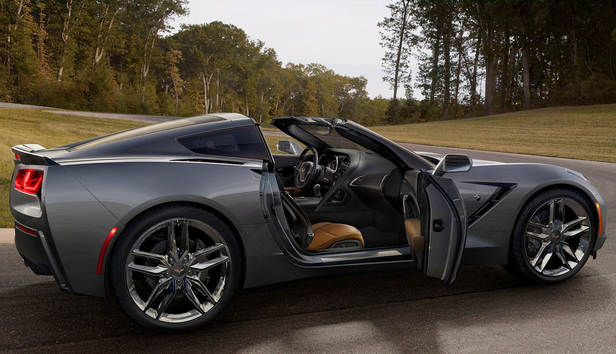 The 2014 Corvette Stingray is the most powerful standard model ever