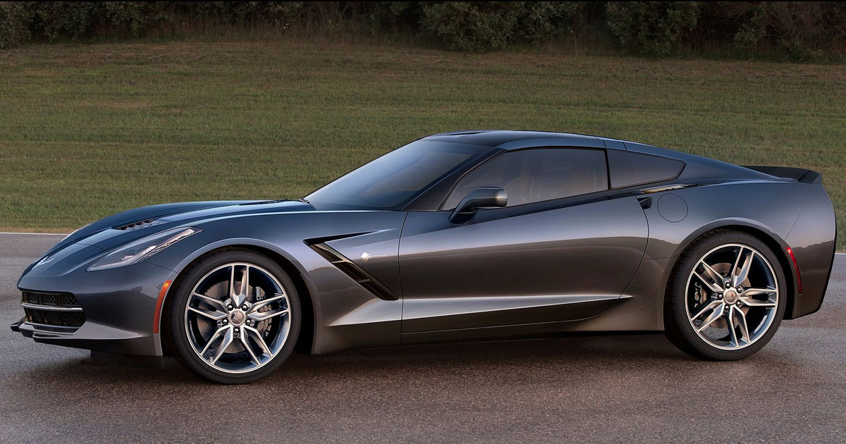 New Chevrolet Corvette Stingray 2014