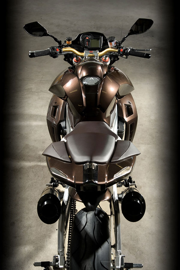Aprilia Stingray by Vilner Custom Bike