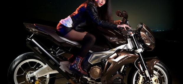 Aprilia Stingray by Vilner Custom Bike