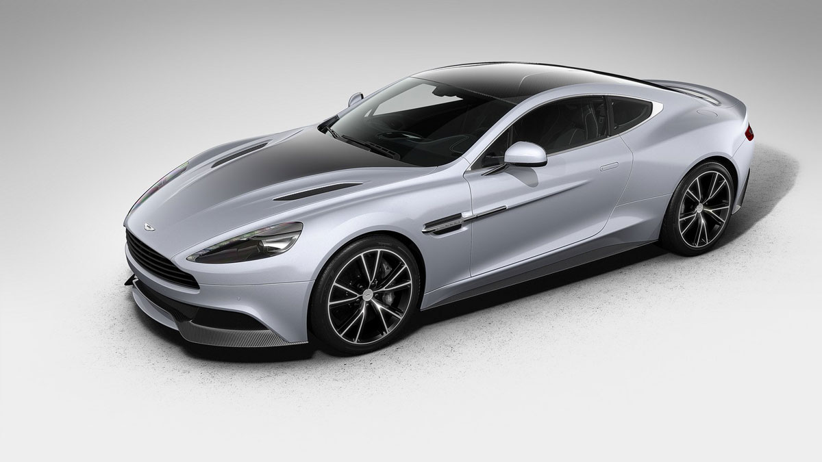 Aston Martin Centenary Edition Vanquish unveiled
