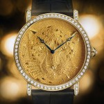 Cartier's Rotonde de Cartier: Panther with Granulation Debut at SIHH 2013
