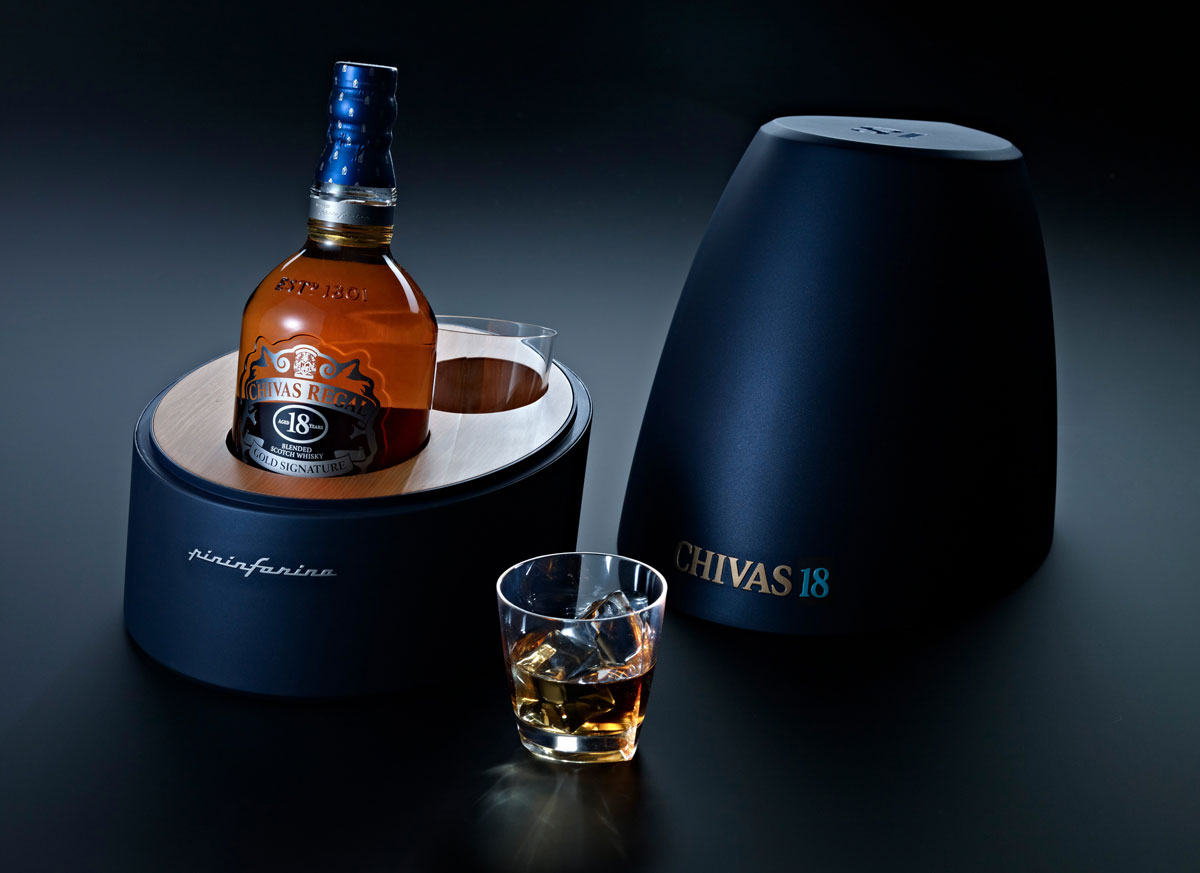 Chivas 18 by Pininfarina – Limited Edition Whiskey Gift Collection