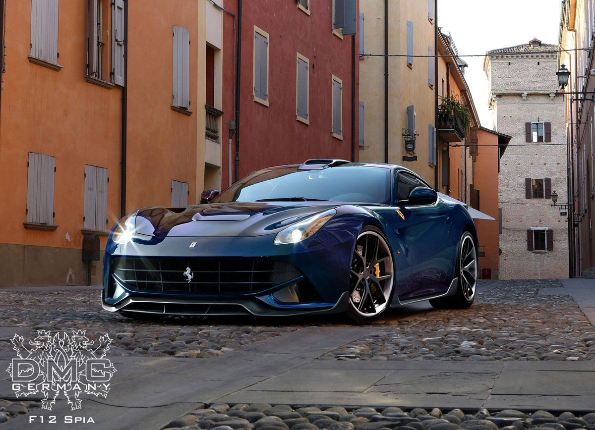 DMC's Ferrari F12 Berlinetta Upgrades Your Hart