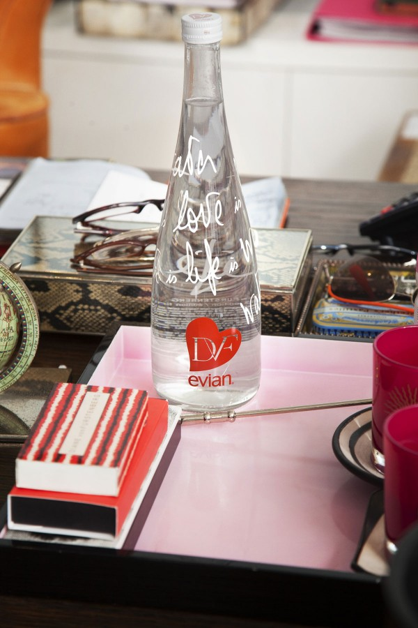 Evian Bottle by Diane von Furstenberg