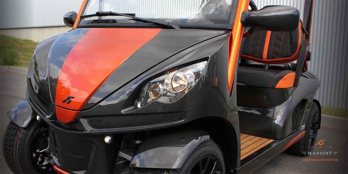 Build Your Golf Car with the Garia Mansory Accessory Program