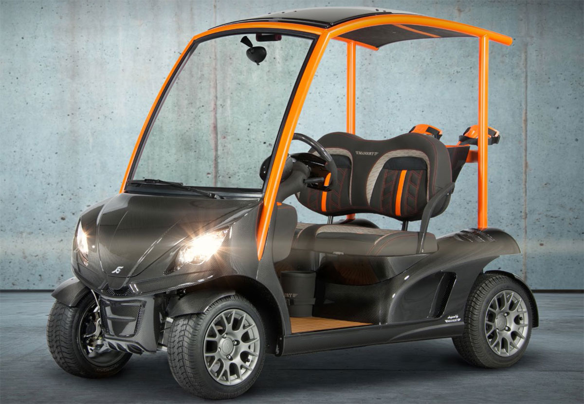 Build Your Golf Car With The Garia Mansory Accessory Program Extravaganzi