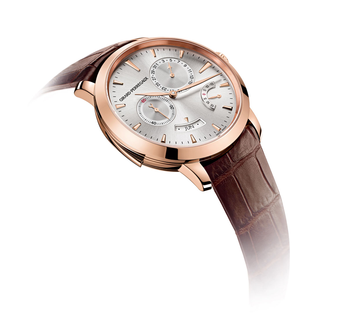Girard perregaux 1966 minute repeater annual calendar equation of time watch extravaganzi for Girard perregaux