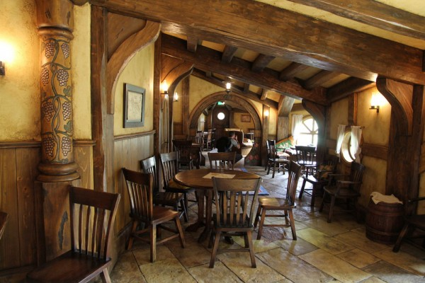 Hobbit themed Green Dragon Pub Opened in Hobbiton
