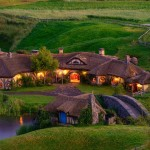 Hobbit Themed Green Dragon Pub Opened in Hobbiton, near Matamata, New Zealand