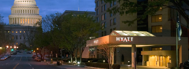 $70,000 Presidential Entourage Package in Hyatt Regency Washington